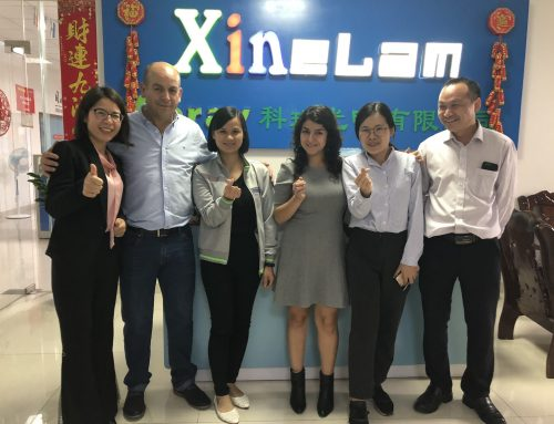 2019 customers to Koray Zhongshan Factory